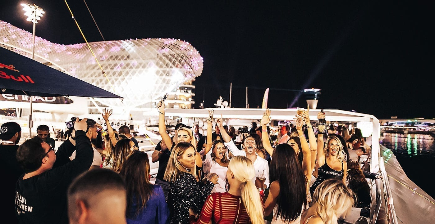 Hosting a Super Yacht Party at the Abu Dhabi Yas Marina