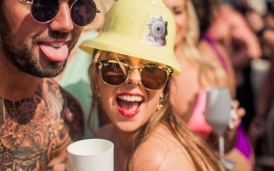 Candypants Marbella Weekender at the hugely popular Plaza Beach Club